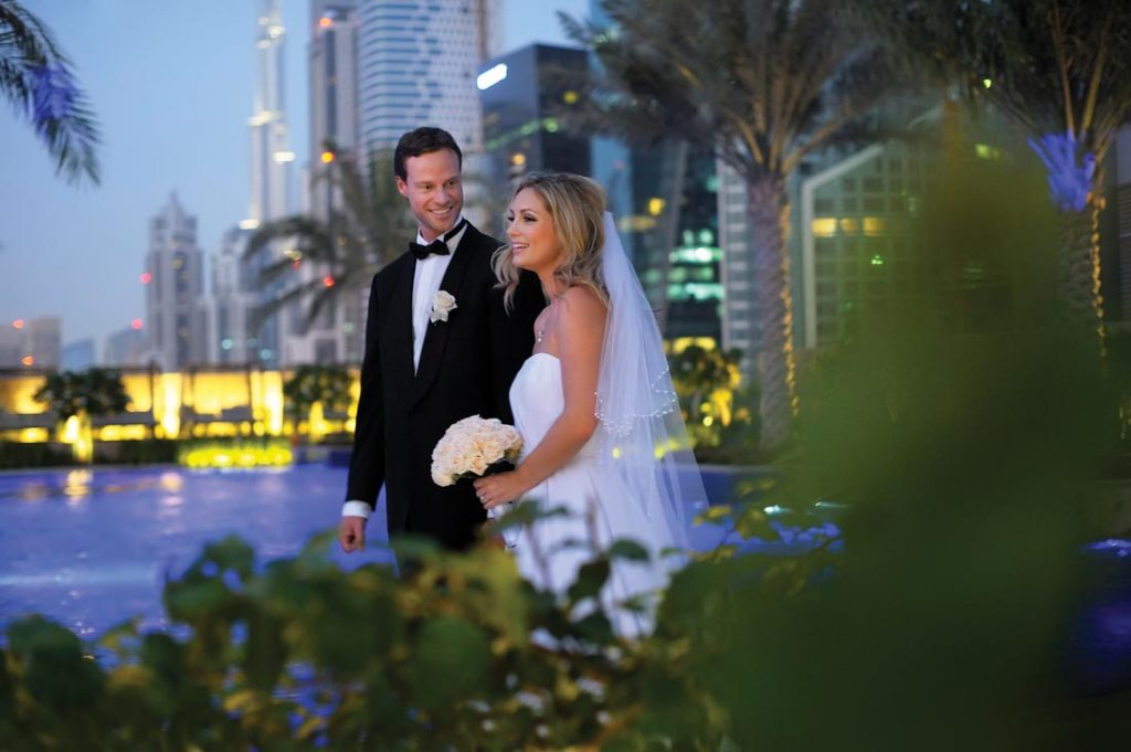 wedding at jw Marriott marquis Dubai