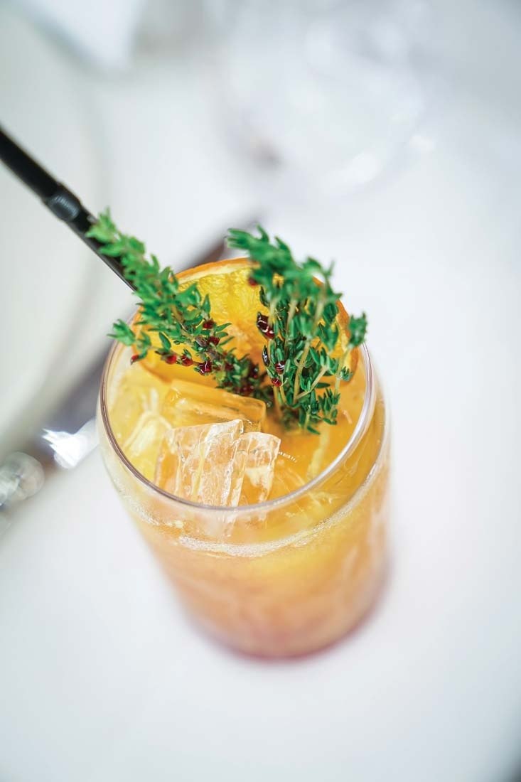 Sun King Mocktail - 35AED