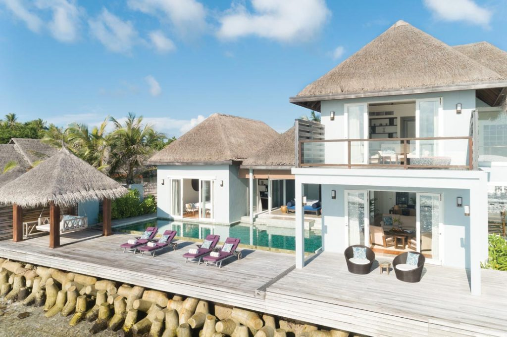 Naladhu private island Maldives villa