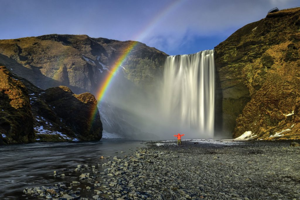 Skogafoss Waterfall in Iceland. Photo: Getty Images