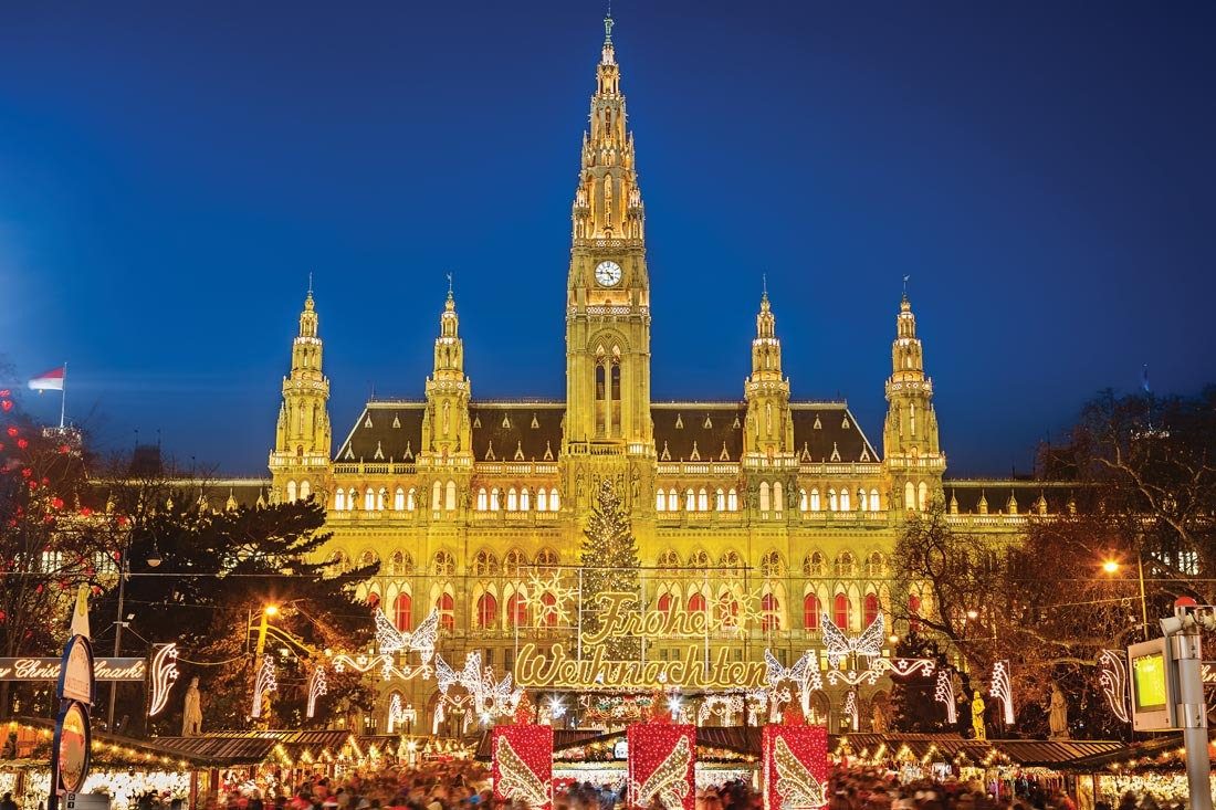 Spend a long weekend in Vienna