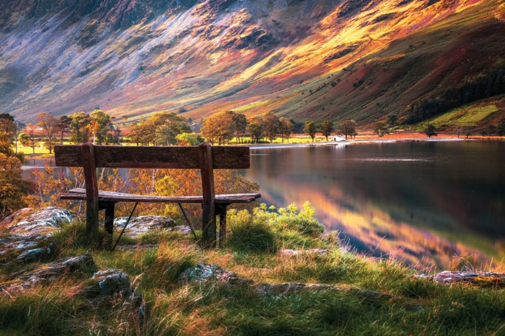 The Lake District National Park in United Kingdom